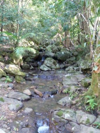 Take a walk up the property's creek to a beautiful waterfall